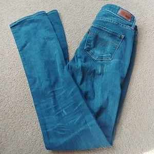 Levi's womens size 26 mid rise straight jeans